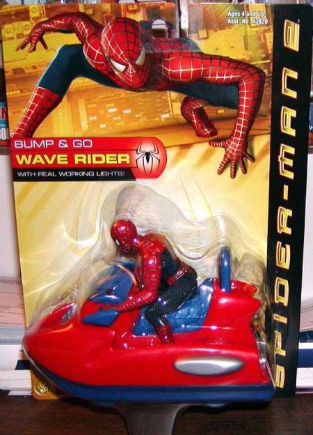 Spider-Man 2 Bump Go Wave Rider Vehicle Hasbro