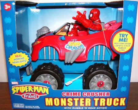 Spider-Man Crime Crusher Monster Truck