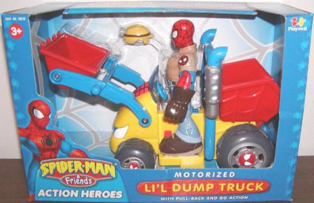 Spider-Man Motorized Lil Dump Truck