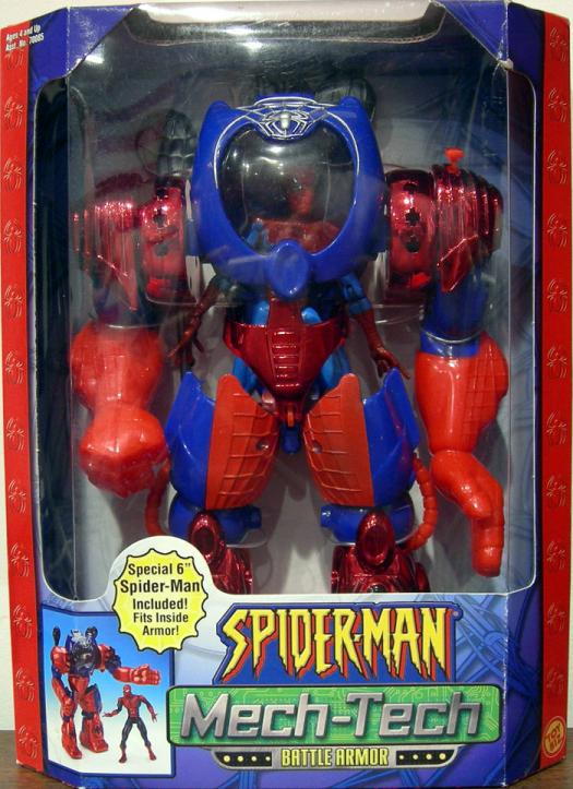 Spider-Man Mech Tech Battle Armor Classic