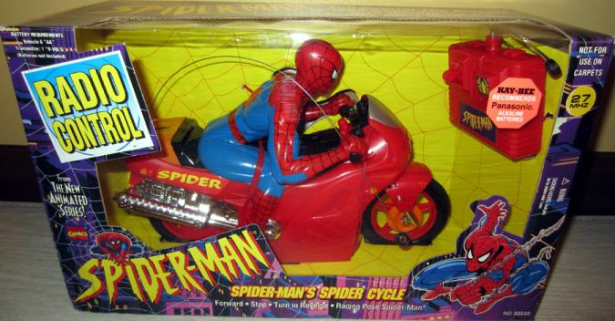 Spider-Mans Spider Cycle radio control