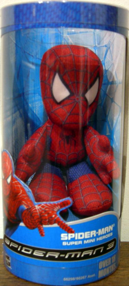 Spider-Man 3 Plush Super Mini Heroes