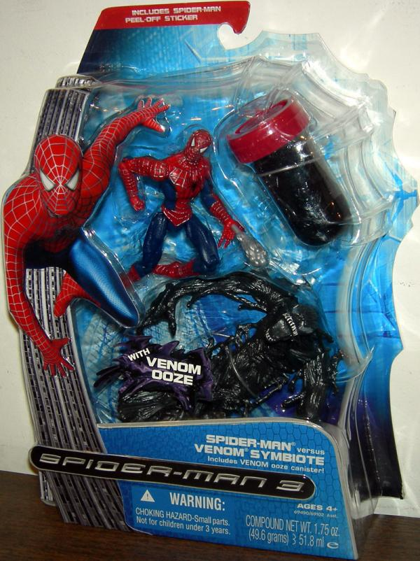 Spider-Man Versus Venom Symbiote Figures Hasbro