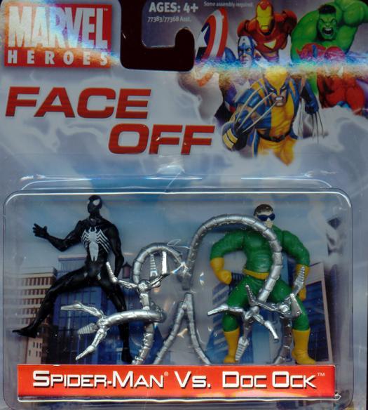 Spider-Man vs Doc Ock Face Off