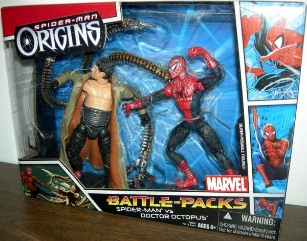 Spider-Man vs Doctor Octopus Spider-Man Origins Battle-Packs
