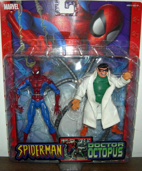 Spider-Man vs Doctor Octopus Classic action figures