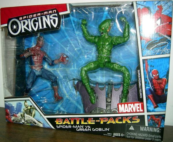 Spider-Man vs Green Goblin Spider-Man Origins Battle-Packs