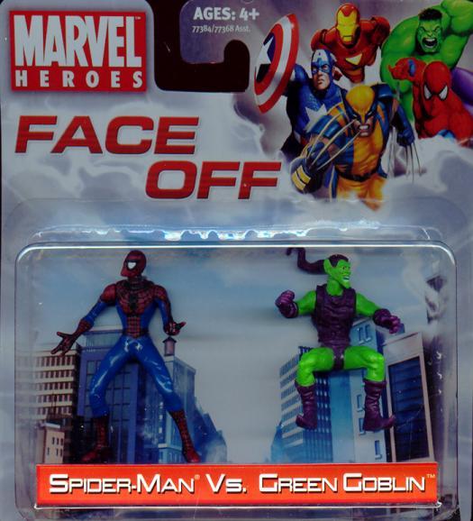 Spider-Man vs Green Goblin Face Off