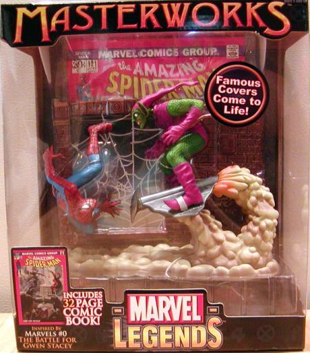 Spider-Man vs Green Goblin Marvel Legends Masterworks