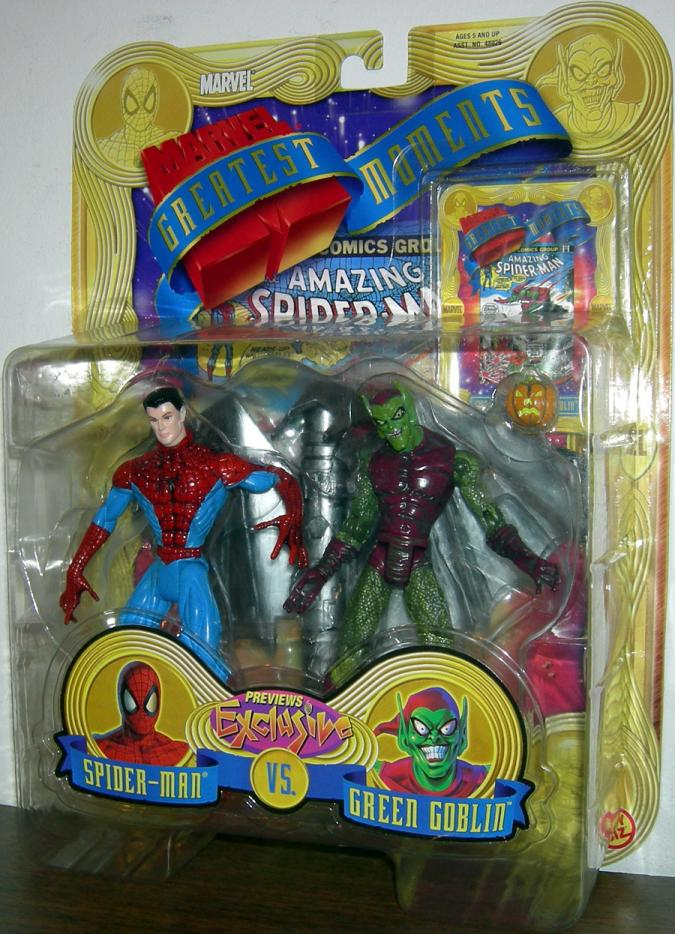 Spider-Man vs Green Goblin, Marvel Greatest Moments