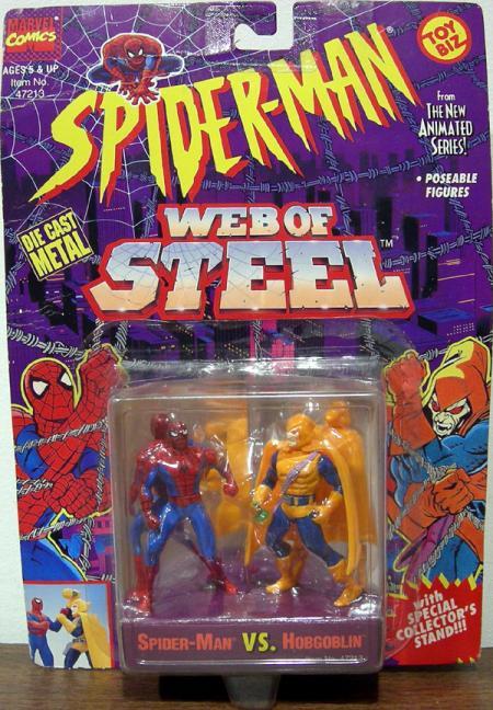 Spider-Man vs Hobgoblin Web Steel