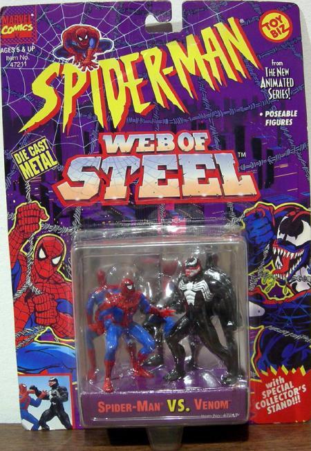 Spider-Man vs Venom Web Steel