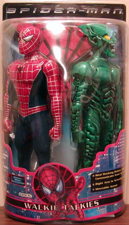 Spider-Man Green Goblin Walkie Talkies movie action figures