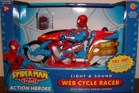 Spider-Man Web Cycle Racer