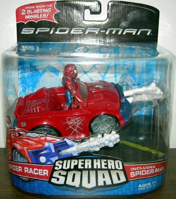 Spider Racer Super Hero Squad