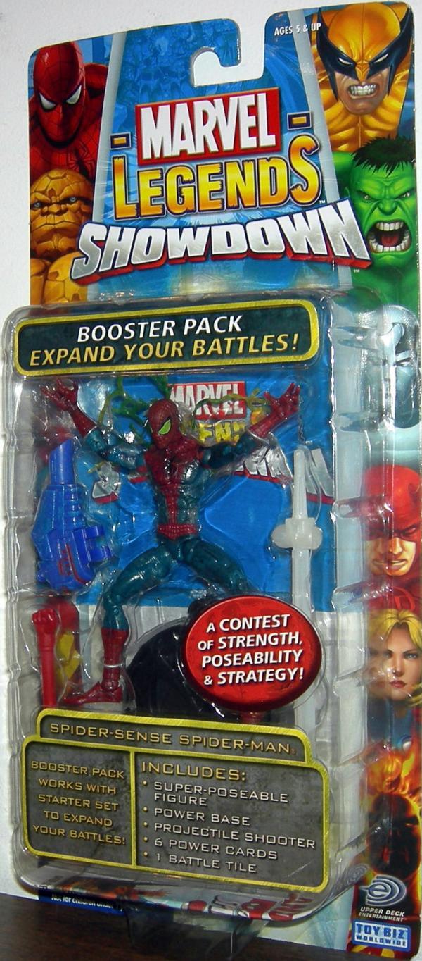 Spider-Sense Spider-Man Marvel Legends Showdown