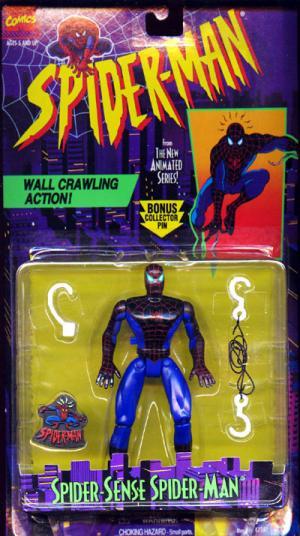 Spider-Sense Spider-Man Figure Animated Toy Biz