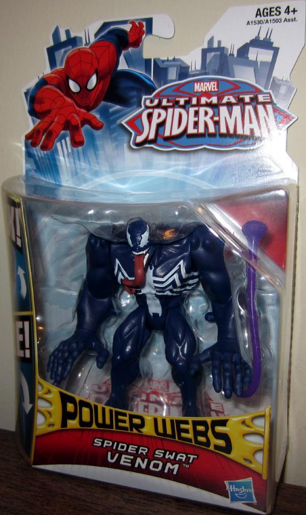 Spider Swat Venom Spiderman action figure