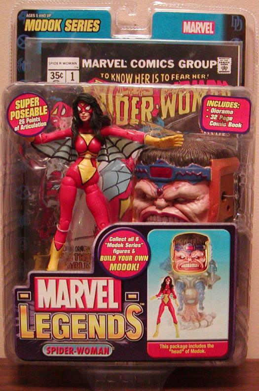 Spider-Woman Marvel Legends