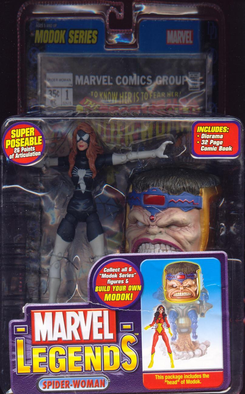 Spider-Woman Marvel Legends variant
