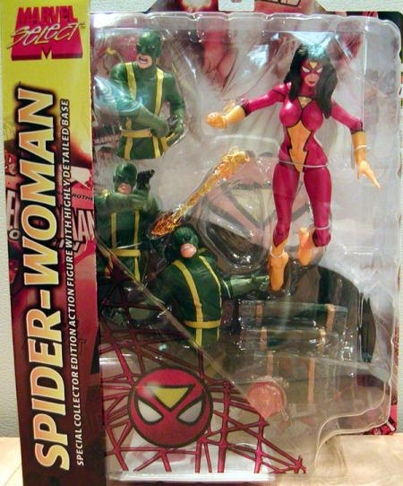 Spider-Woman Marvel Select action figure