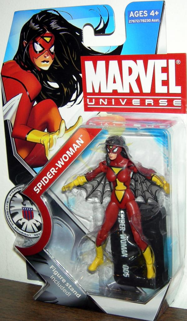 Spider-Woman Marvel Universe Series 3 006 action figure