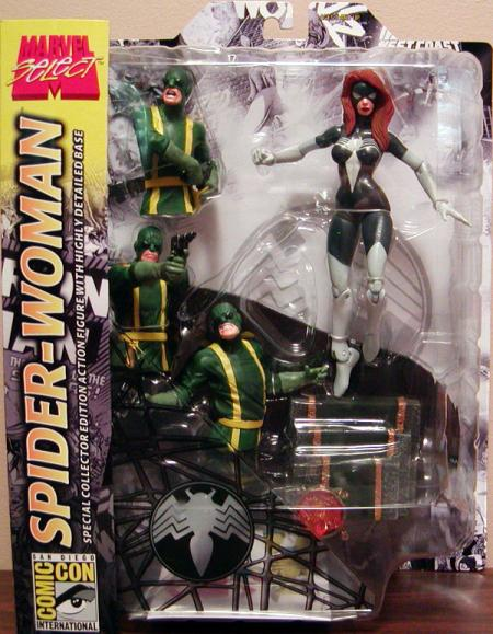 Spider-Woman Marvel Select Action Figure San Diego Comic Con Exclusive
