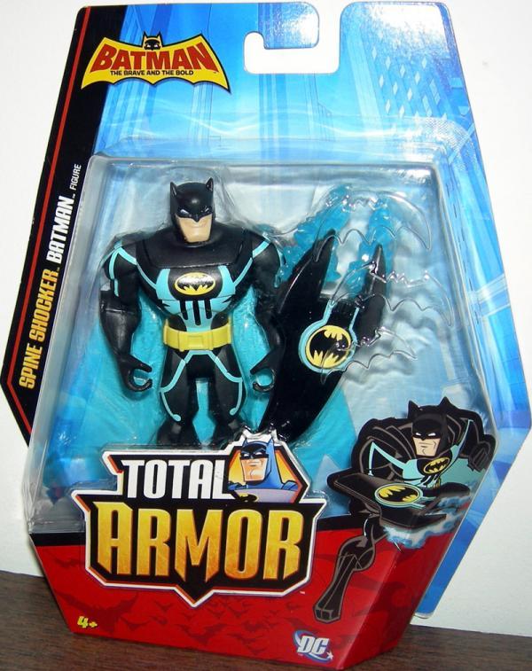 Spine Shocker Batman Total Armor