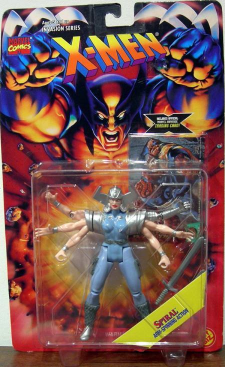Spiral Figure X-Men Invasion Series Toy Biz