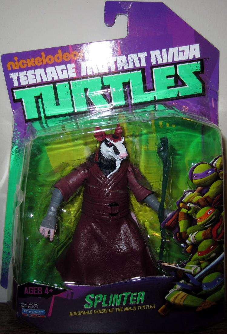 Splinter Figure Nickelodeon Teenage Mutant Ninja Turtles