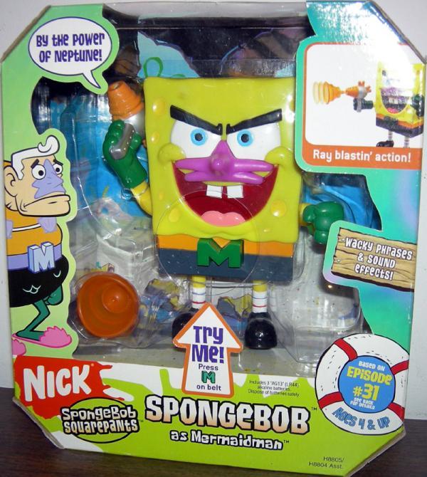 SpongeBob Mermaidman