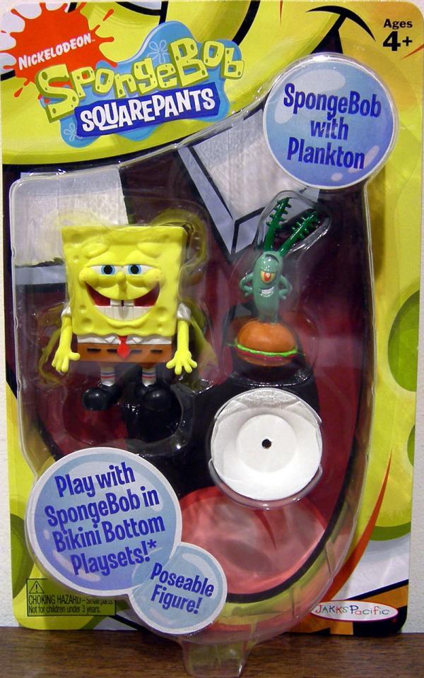 SpongeBob SquarePants Plankton action figures