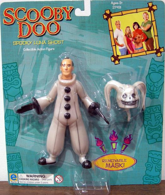 Spooky Luna Ghost Action Figure Scooby-Doo Movie Equity