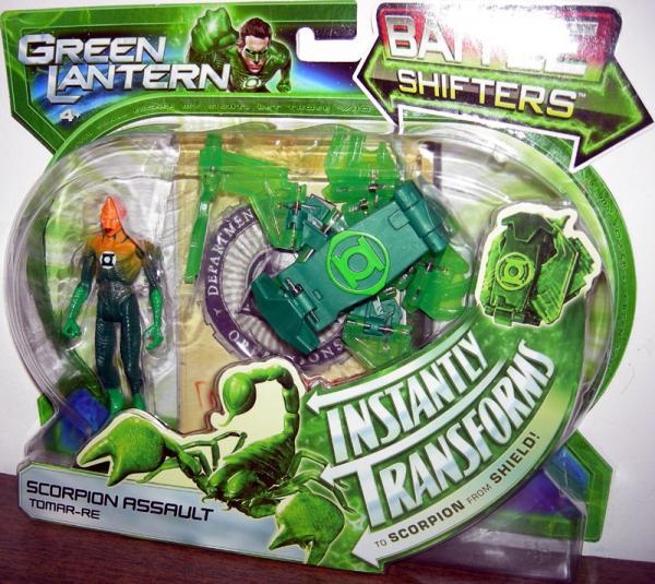 Scorpion Assault Tomar-Re Figure Green Lantern Mattel