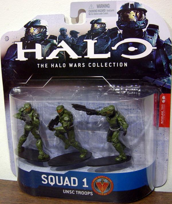 Squad 1 UNSC Troops green