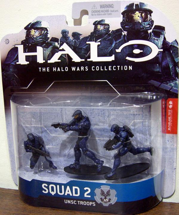 Squad 2 UNSC Troops blue