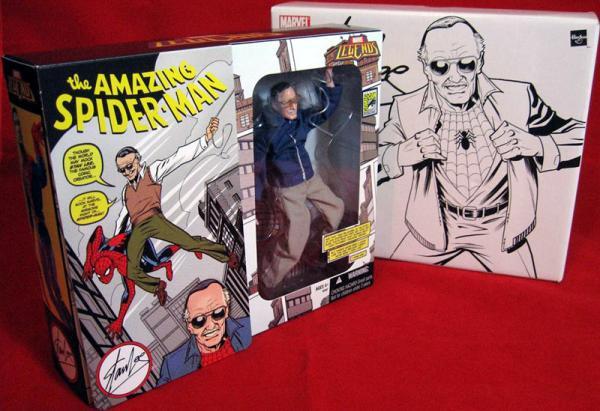Stan Lee Figure Marvel Legends SDCC Exclusive Hasbro