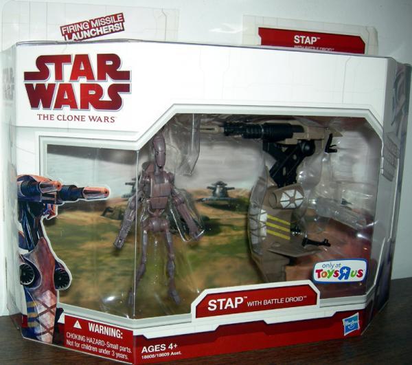 STAP Battle Droid Clone Wars