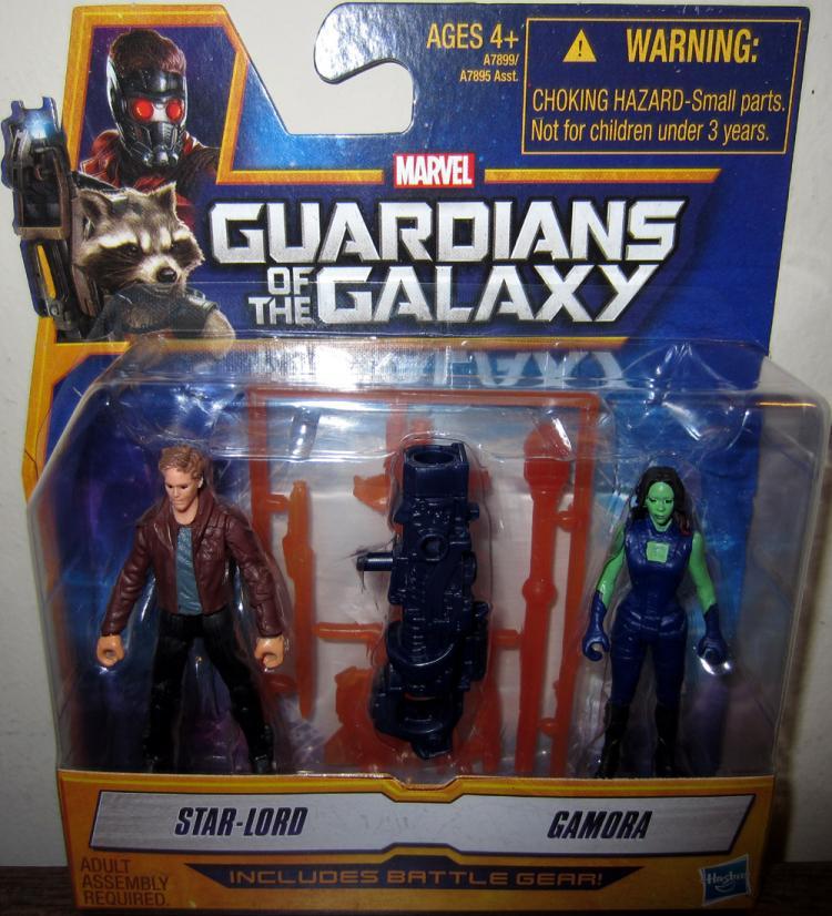 Star-Lord Gamora Figures Mini Guardians Galaxy Hasbro