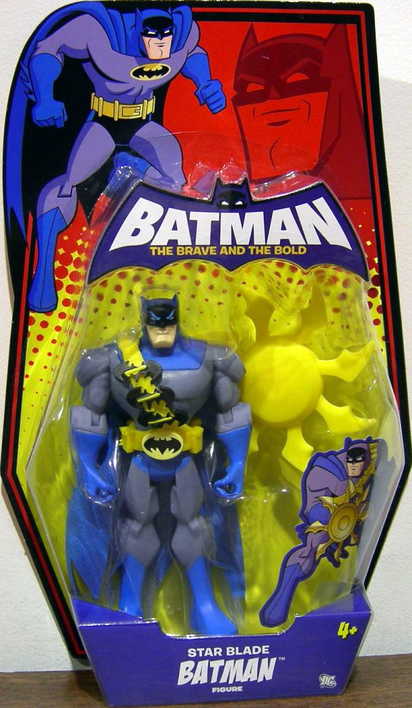 Star Blade Batman Action Figure Brave Bold Mattel