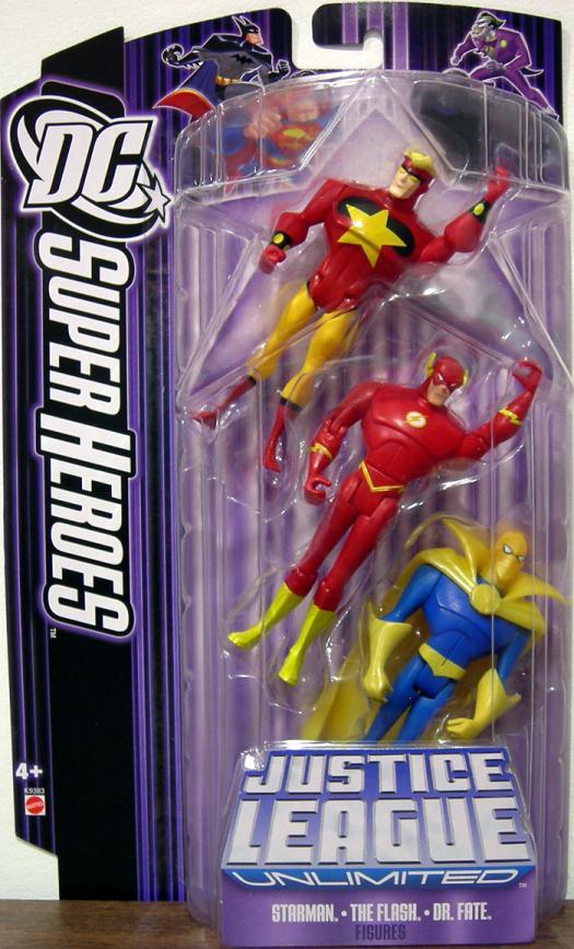 Starman, Flash Dr Fate 3-Pack