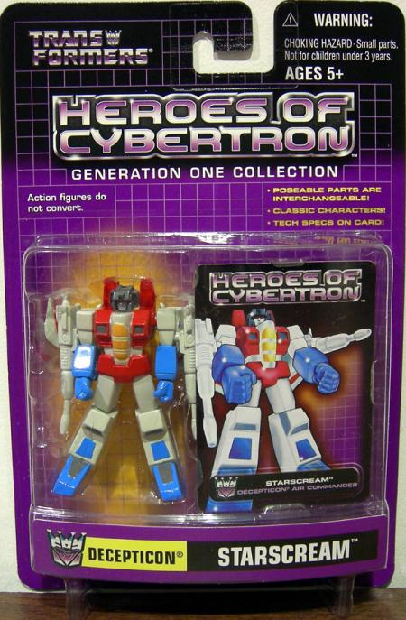 Starscream Heroes Cybertron