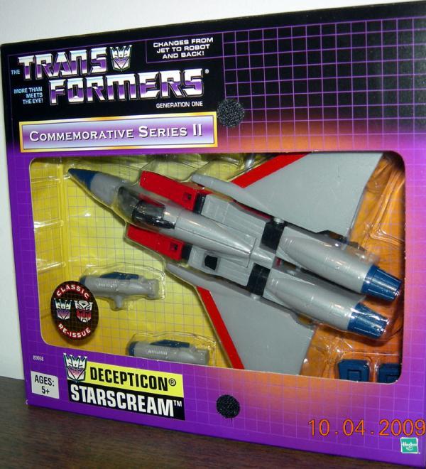 Starscream Commemorative Series II