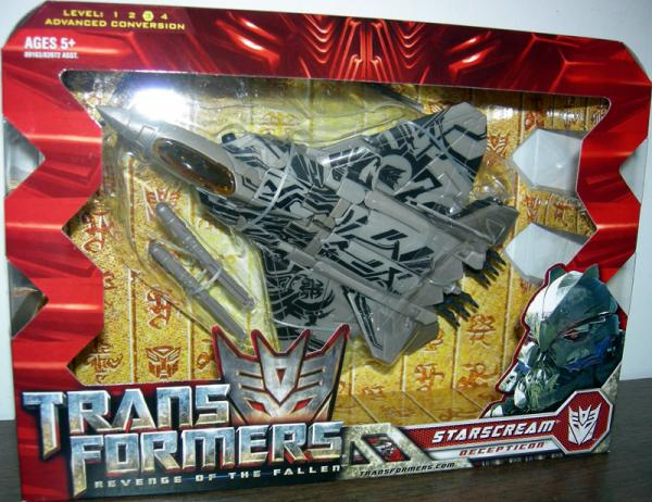 Starscream Figure Revenge Fallen Voyager Class Transformers