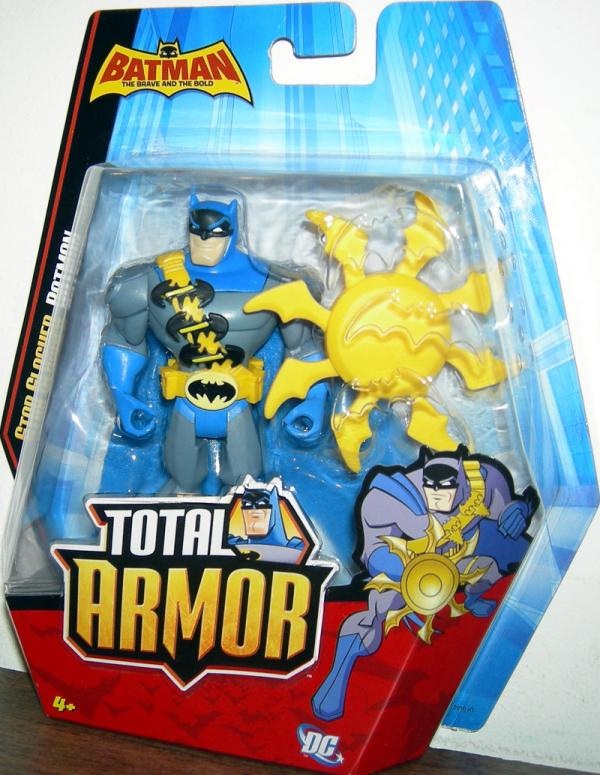 Star Slasher Batman Action Figure Brave Bold Total Armor