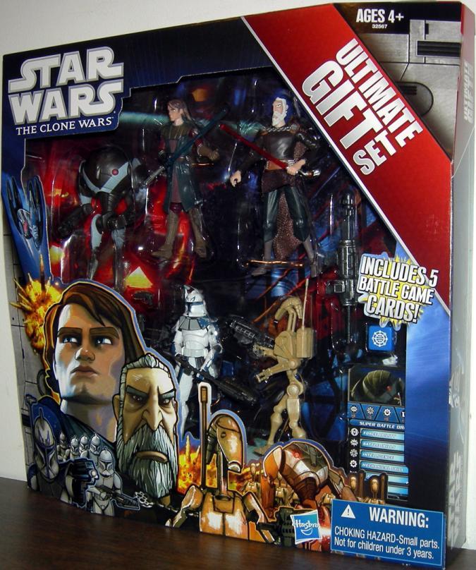Star Wars Clone Wars 5-Pack Ultimate Gift Set