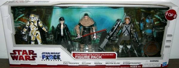 Star Wars- Force Unleashed Figure Pack 1 2