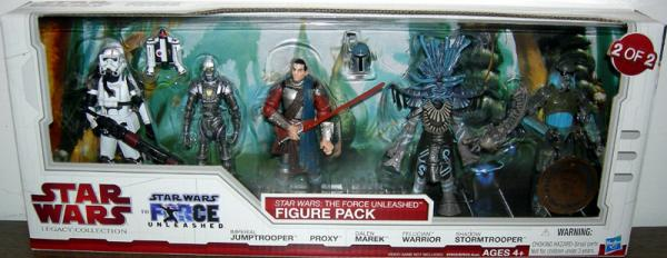 Star Wars- Force Unleashed Figure Pack 2 2