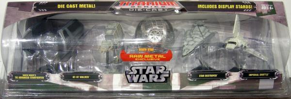 Star Wars Titanium Series Die-Cast 5-Pack raw Death Star