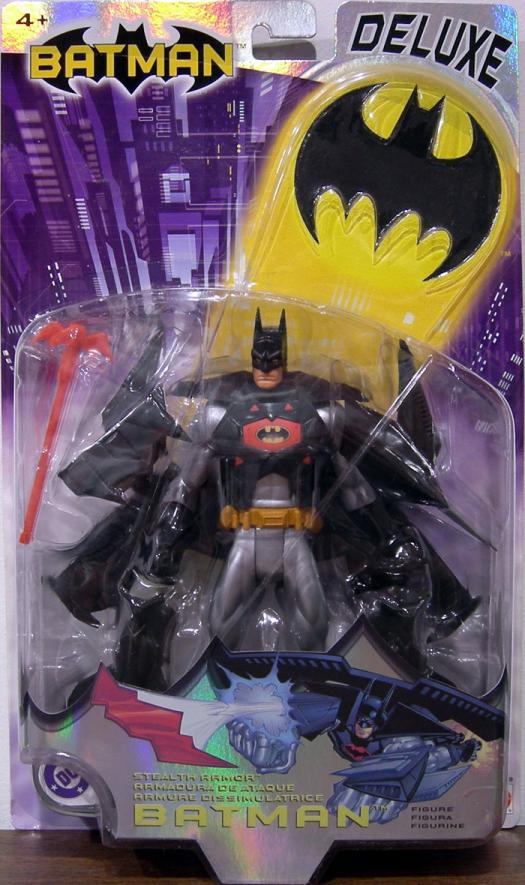 Stealth Armor Batman action figure